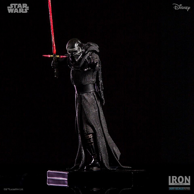 IRON STUDIOS: KYLO REN art scale 1/10 Kylo-Ren-Iron-studios-14