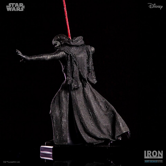 IRON STUDIOS: KYLO REN art scale 1/10 Kylo-Ren-Iron-studios-15