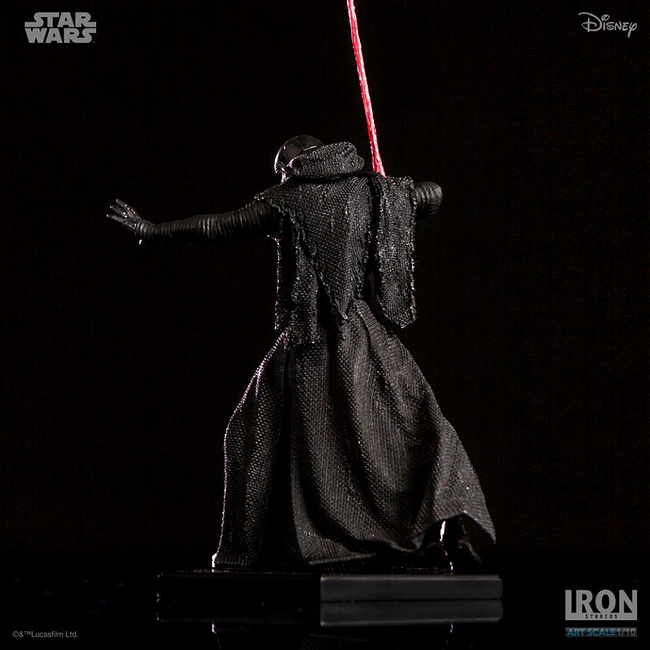 IRON STUDIOS: KYLO REN art scale 1/10 Kylo-Ren-Iron-studios-16