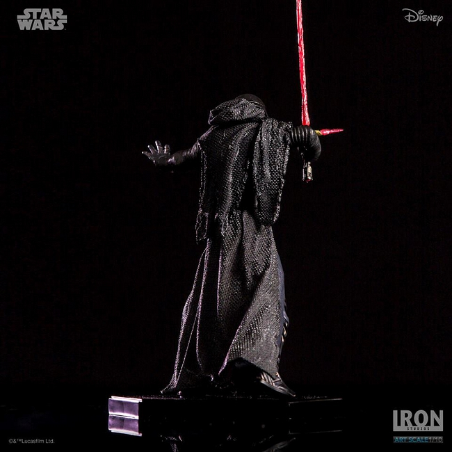 IRON STUDIOS: KYLO REN art scale 1/10 Kylo-Ren-Iron-studios-17
