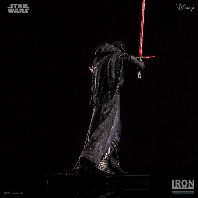 IRON STUDIOS: KYLO REN art scale 1/10 Kylo-Ren-Iron-studios-18