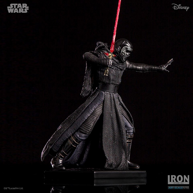 IRON STUDIOS: KYLO REN art scale 1/10 Kylo-Ren-Iron-studios-19