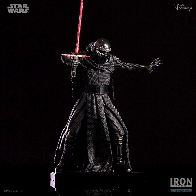 IRON STUDIOS: KYLO REN art scale 1/10 Kylo-Ren-Iron-studios-20