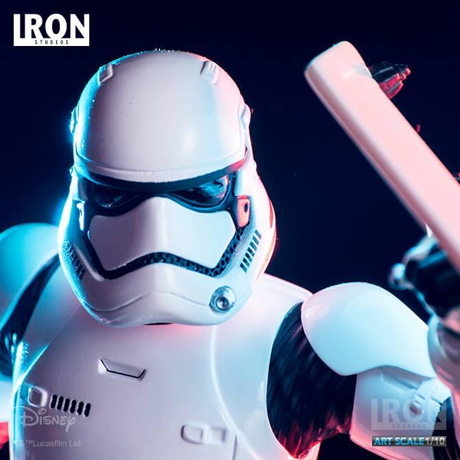 IRON STUDIOS: RIOT CONTROL STORMTROOPER Episode VII art scale 1/10  Riot-control-stormtrooper-art-scale-iron-studios-01