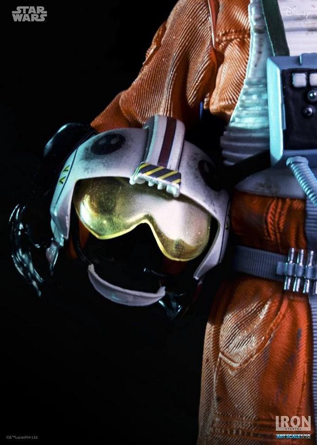 IRON STUDIOS: LUKE SKYWALKER X WING PILOT Art scale 1/10 Luke-skywalker-irob-studios-04