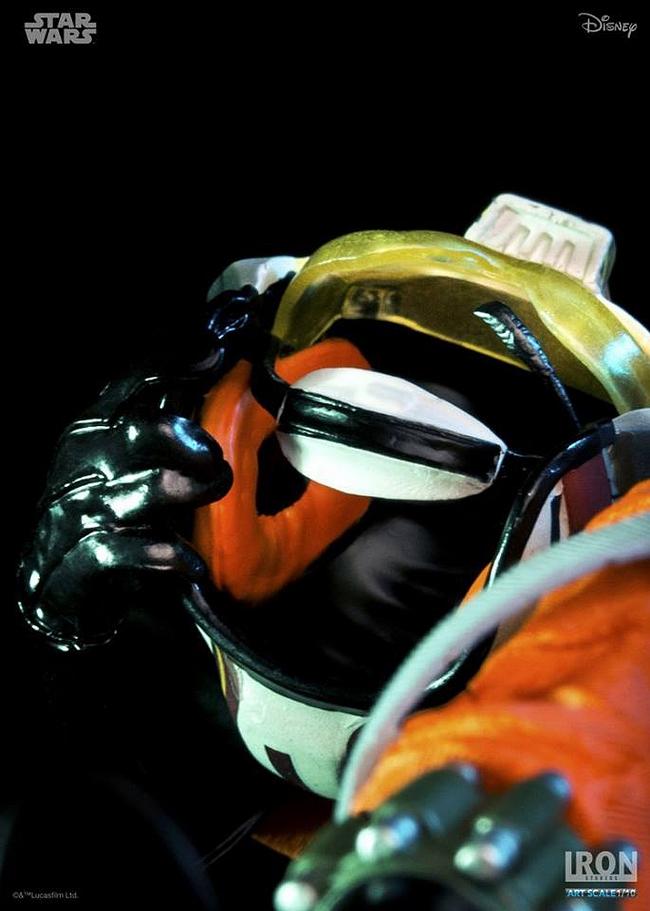 IRON STUDIOS: LUKE SKYWALKER X WING PILOT Art scale 1/10 Luke-skywalker-irob-studios-05