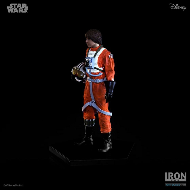 IRON STUDIOS: LUKE SKYWALKER X WING PILOT Art scale 1/10 Luke-skywalker-irob-studios-08
