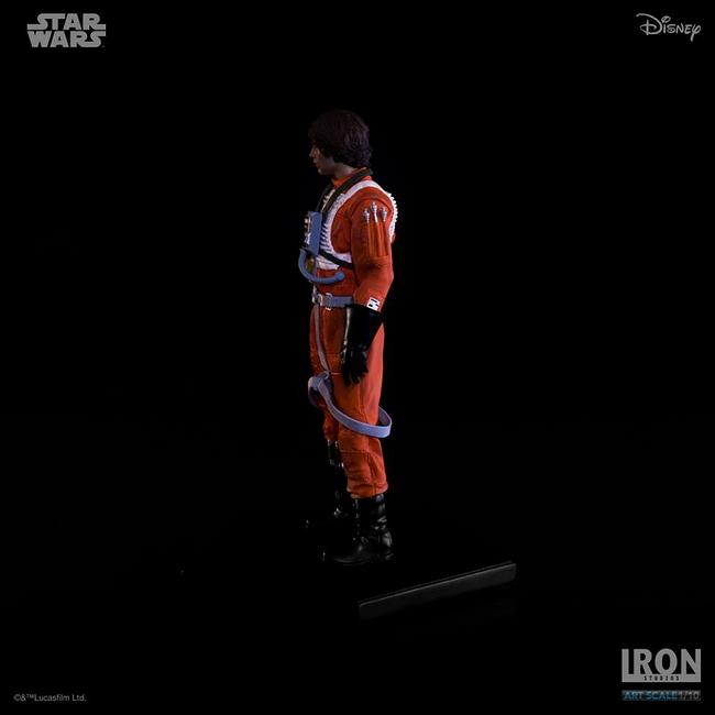 IRON STUDIOS: LUKE SKYWALKER X WING PILOT Art scale 1/10 Luke-skywalker-irob-studios-09