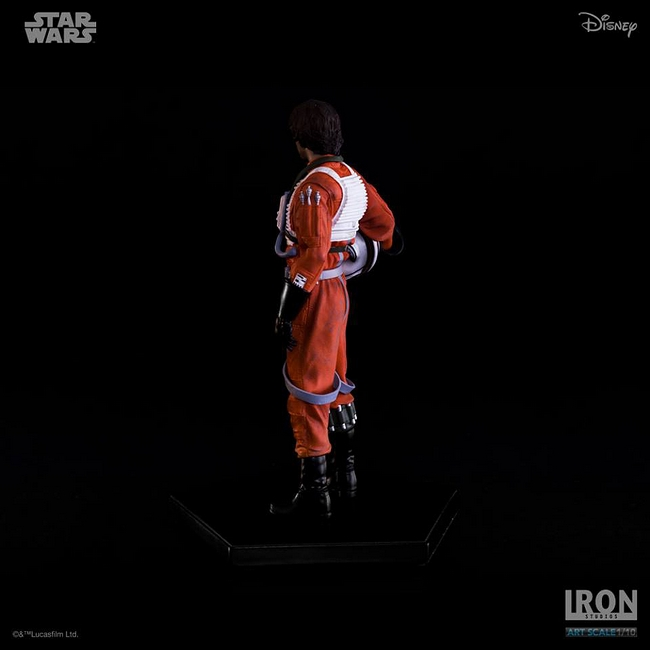 IRON STUDIOS: LUKE SKYWALKER X WING PILOT Art scale 1/10 Luke-skywalker-irob-studios-10