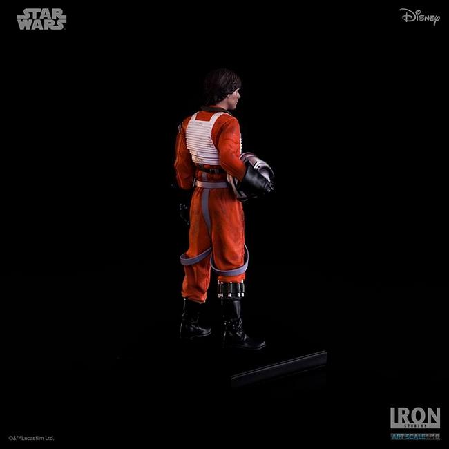 IRON STUDIOS: LUKE SKYWALKER X WING PILOT Art scale 1/10 Luke-skywalker-irob-studios-13