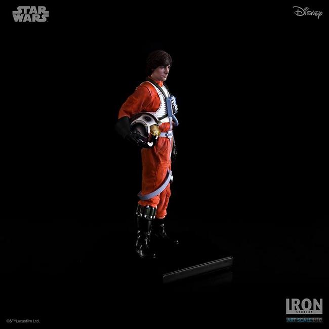 IRON STUDIOS: LUKE SKYWALKER X WING PILOT Art scale 1/10 Luke-skywalker-irob-studios-14