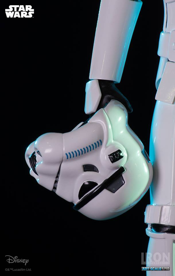 IRON STUDIOS: LUKE SKYWALKER IN STORMTROOPER DISGUISE art scale 1/10 Luke-stormtrroper-disguise-art-scale-iron-sudios-03