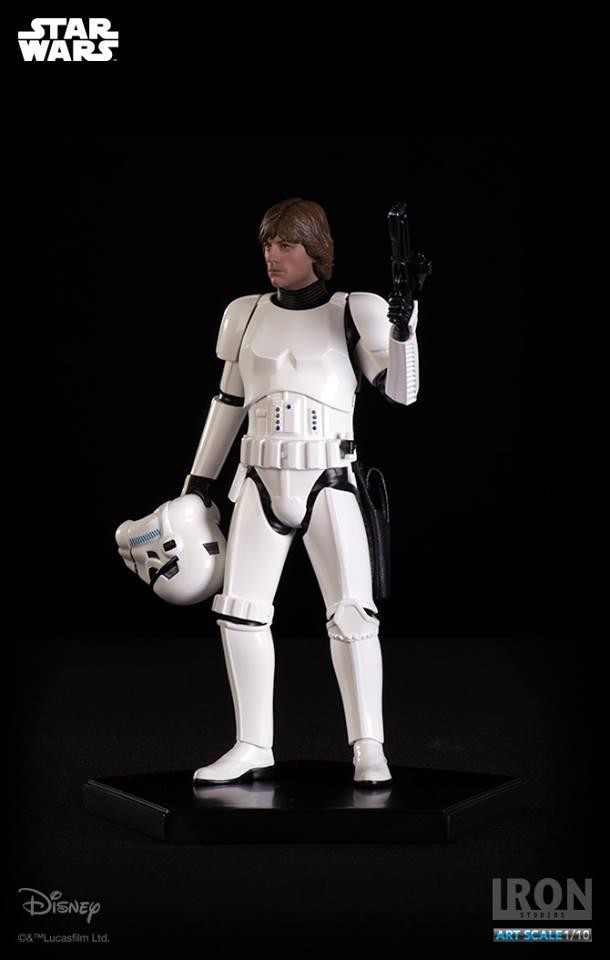 IRON STUDIOS: LUKE SKYWALKER IN STORMTROOPER DISGUISE art scale 1/10 Luke-stormtrroper-disguise-art-scale-iron-sudios-11