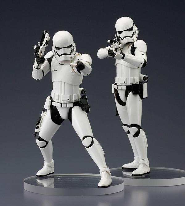 STAR WARS : First Order Stormtrooper Two Pack ARTFX-Stormtroopers-First-Order-Version-Star-Wars-Episode-VII-Kotobukiya-12