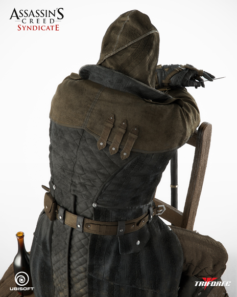 Triforce - Assassin's Creed Syndicate - Jacob Frye - Premier Scale Statue Assassins_Creed_Syndicate-Jacob_Fries-Premier_Scale_Statue_02