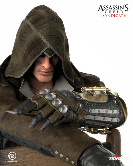 Triforce - Assassin's Creed Syndicate - Jacob Frye - Premier Scale Statue Assassins_Creed_Syndicate-Jacob_Fries-Premier_Scale_Statue_04