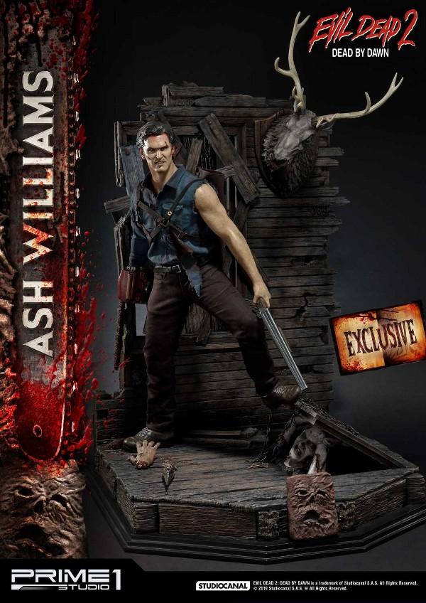 EVIL DEAD 2 : ASH WILLIAMS 1.3 Ash-Statue-10