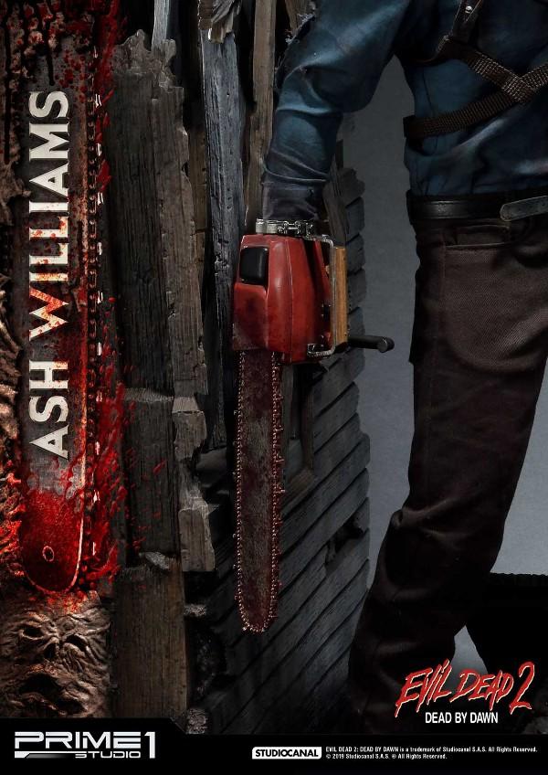 EVIL DEAD 2 : ASH WILLIAMS 1.3 Ash-Statue-14