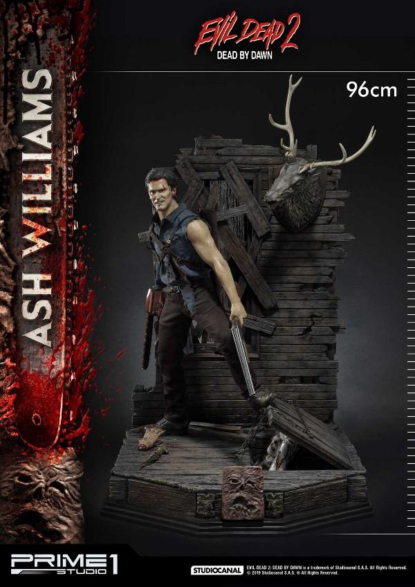 EVIL DEAD 2 : ASH WILLIAMS 1.3 Ash-Statue-2