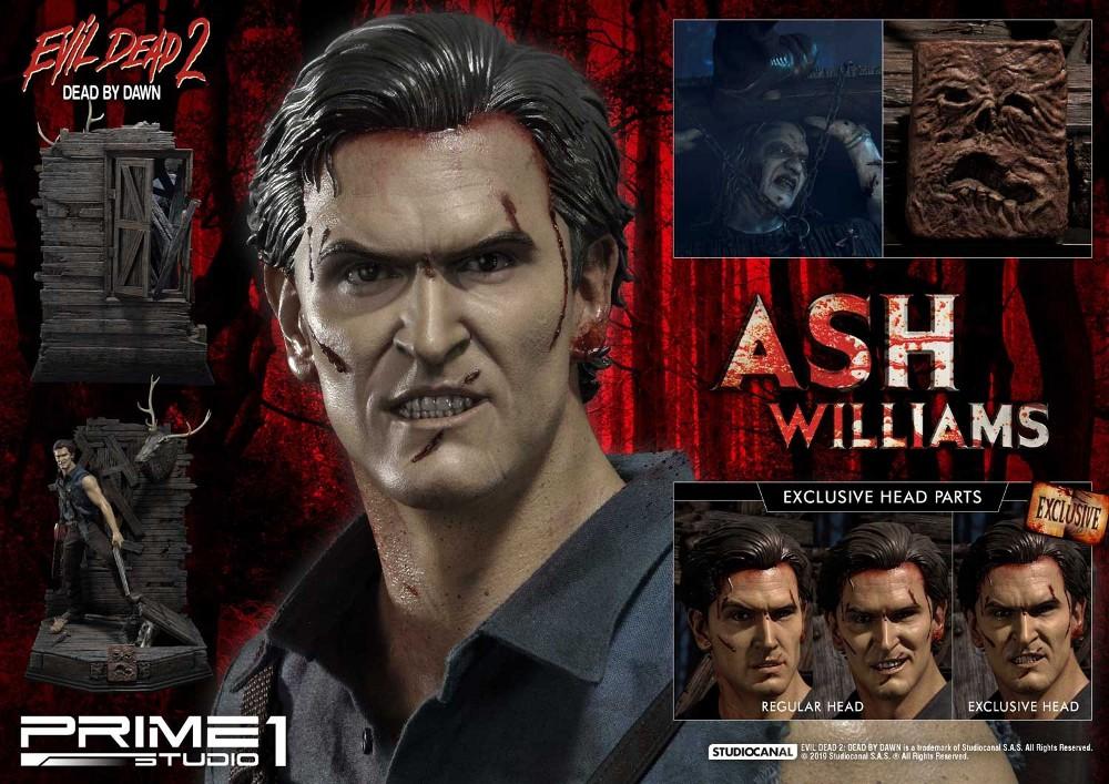EVIL DEAD 2 : ASH WILLIAMS 1.3 Ash-Statue-3