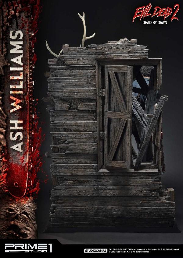 EVIL DEAD 2 : ASH WILLIAMS 1.3 Ash-Statue-6