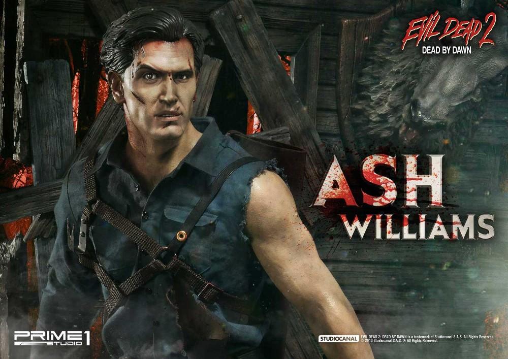 EVIL DEAD 2 : ASH WILLIAMS 1.3 Ash-Statue-8