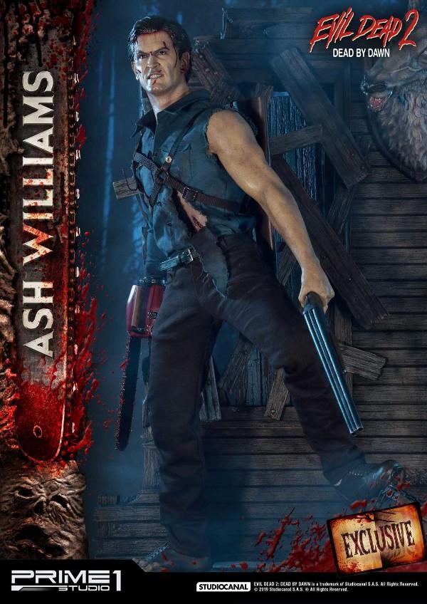 EVIL DEAD 2 : ASH WILLIAMS 1.3 Ash-Statue-9