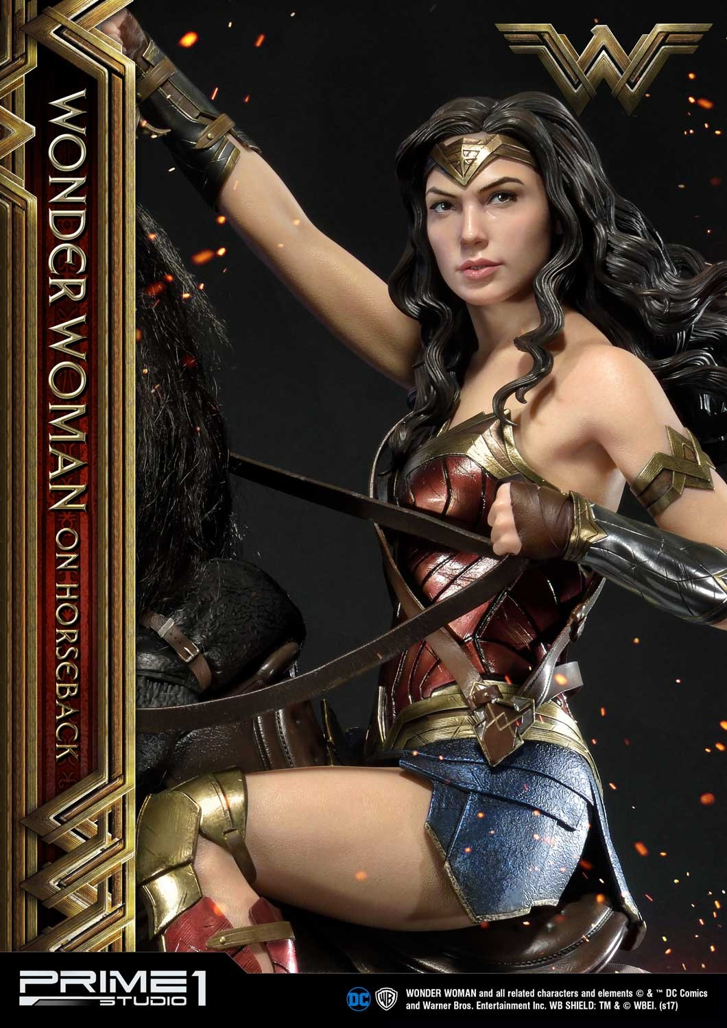 DC Comics - Wonder Woman Movie : Wonder Woman On Horseback 1/3 Scale Museum Masterline statue Mmww-02_a03