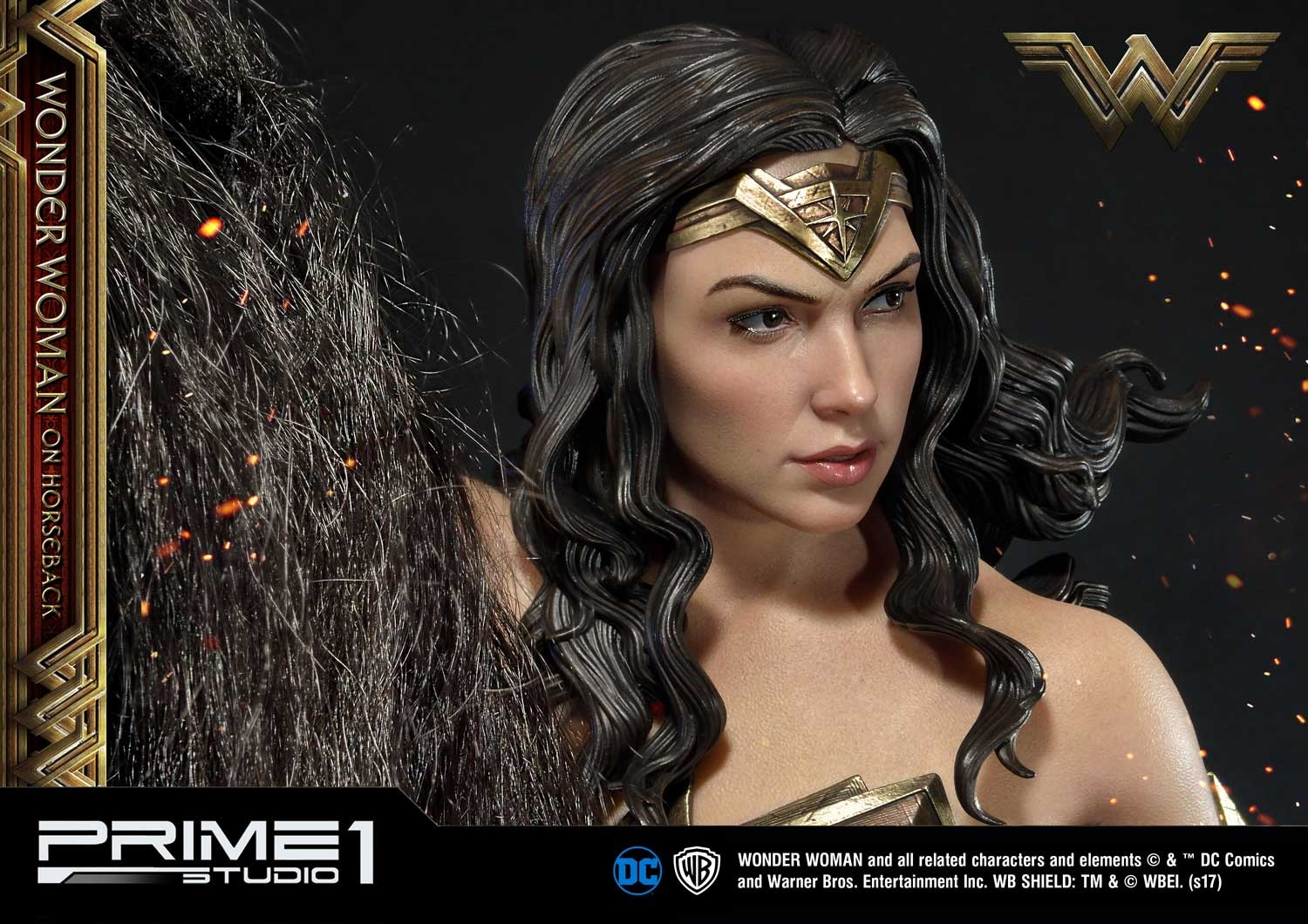 DC Comics - Wonder Woman Movie : Wonder Woman On Horseback 1/3 Scale Museum Masterline statue Mmww-02_b27
