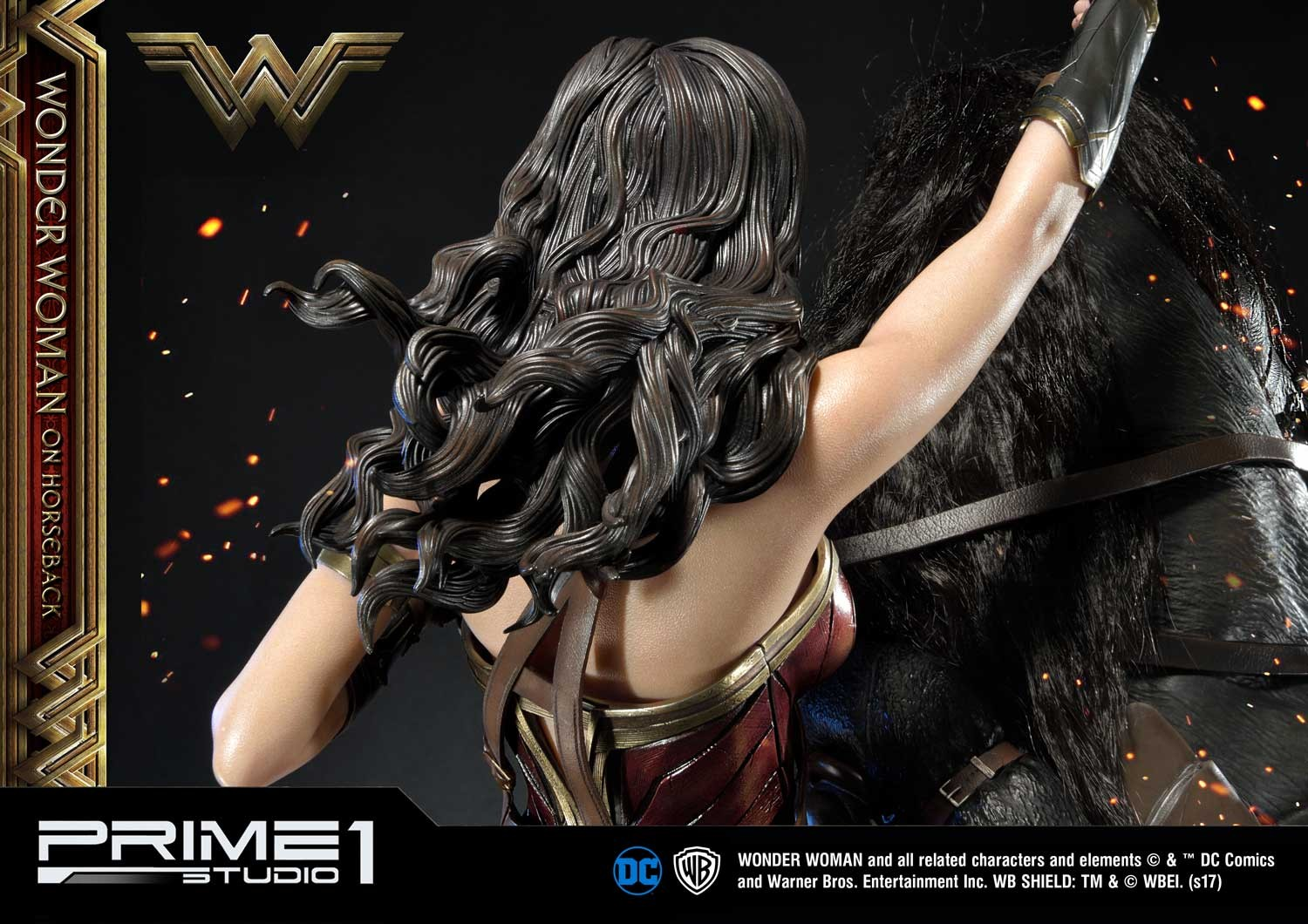 DC Comics - Wonder Woman Movie : Wonder Woman On Horseback 1/3 Scale Museum Masterline statue Mmww-02_b29