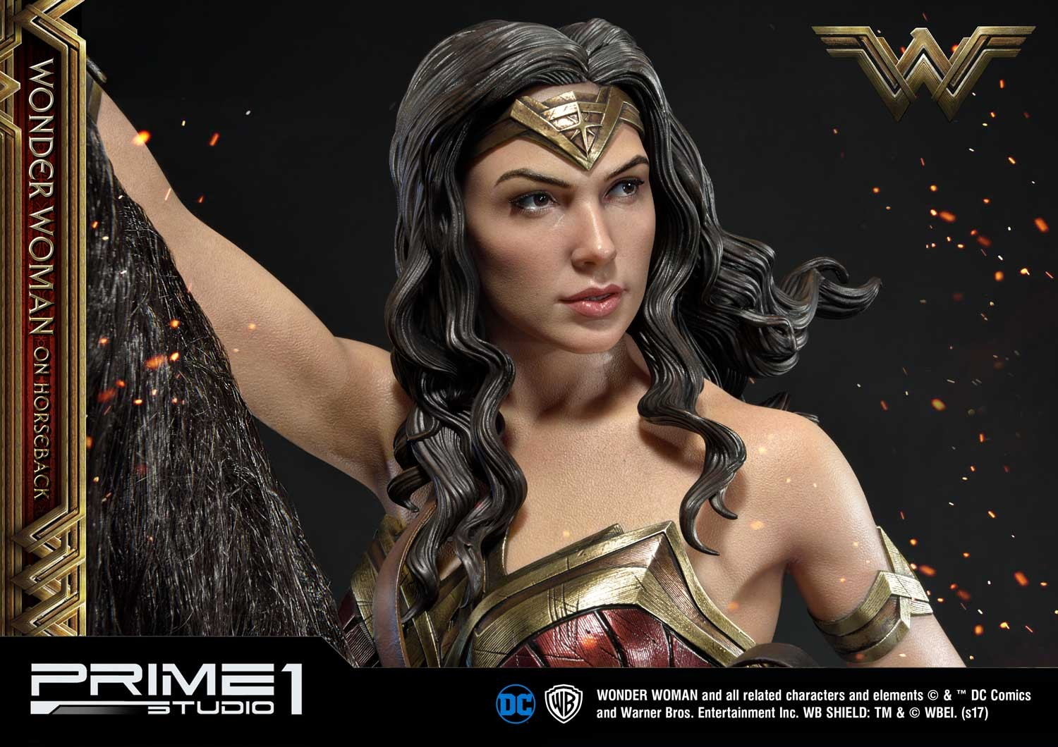 DC Comics - Wonder Woman Movie : Wonder Woman On Horseback 1/3 Scale Museum Masterline statue Mmww-02_b33