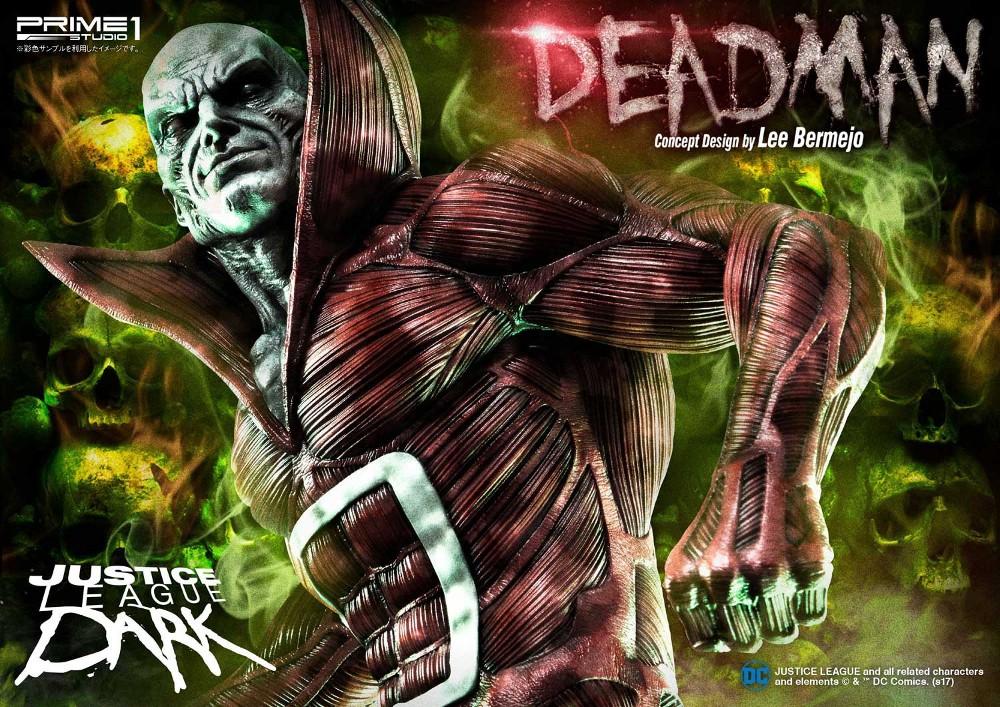 DC Comics : Justice League Dark - Deadman (Concept Design by Lee Bermejo) Deadman-statue-PrimeOne-1