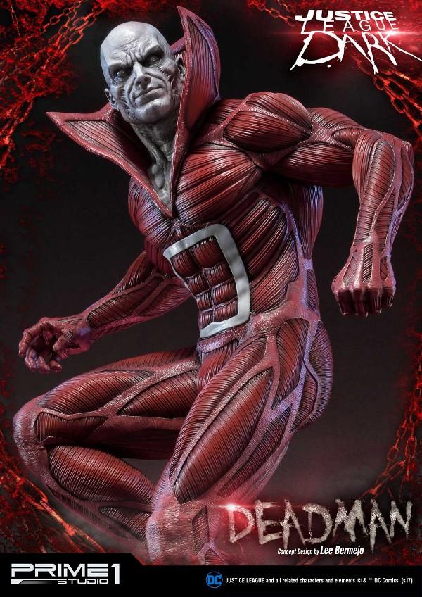 DC Comics : Justice League Dark - Deadman (Concept Design by Lee Bermejo) Deadman-statue-PrimeOne-2