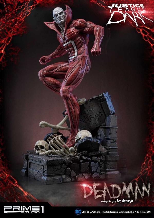 DC Comics : Justice League Dark - Deadman (Concept Design by Lee Bermejo) Deadman-statue-PrimeOne-3