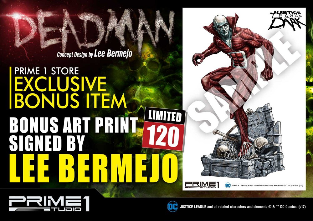 DC Comics : Justice League Dark - Deadman (Concept Design by Lee Bermejo) Deadman-statue-PrimeOne-4