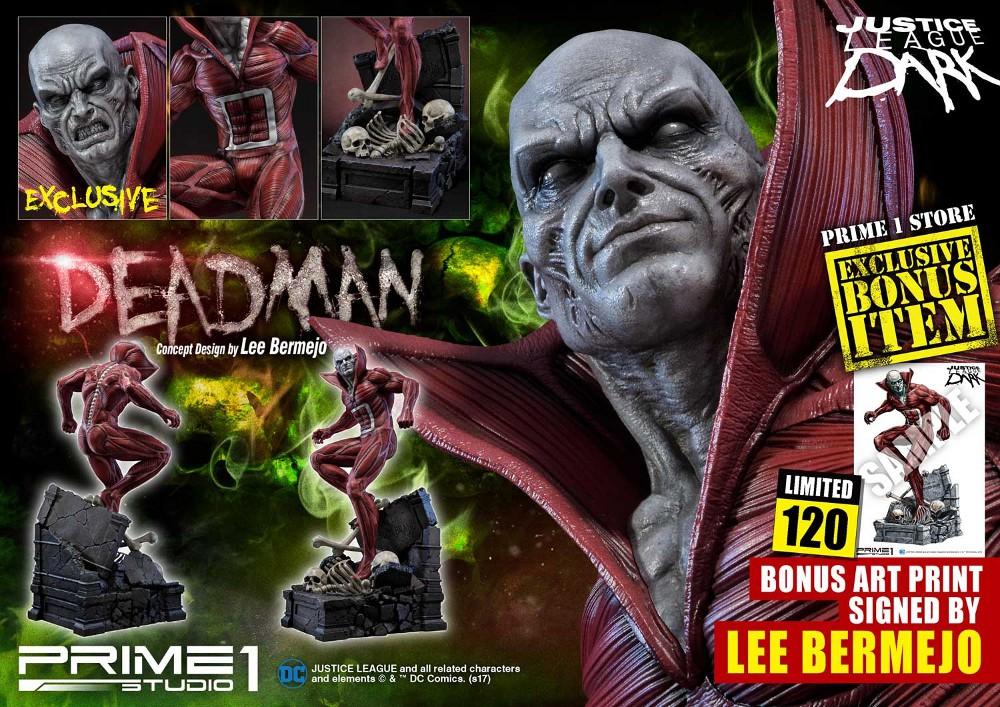 DC Comics : Justice League Dark - Deadman (Concept Design by Lee Bermejo) Deadman-statue-PrimeOne-5