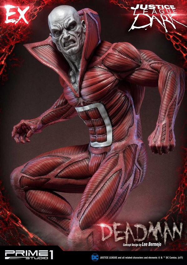 DC Comics : Justice League Dark - Deadman (Concept Design by Lee Bermejo) Deadman-statue-PrimeOne-6