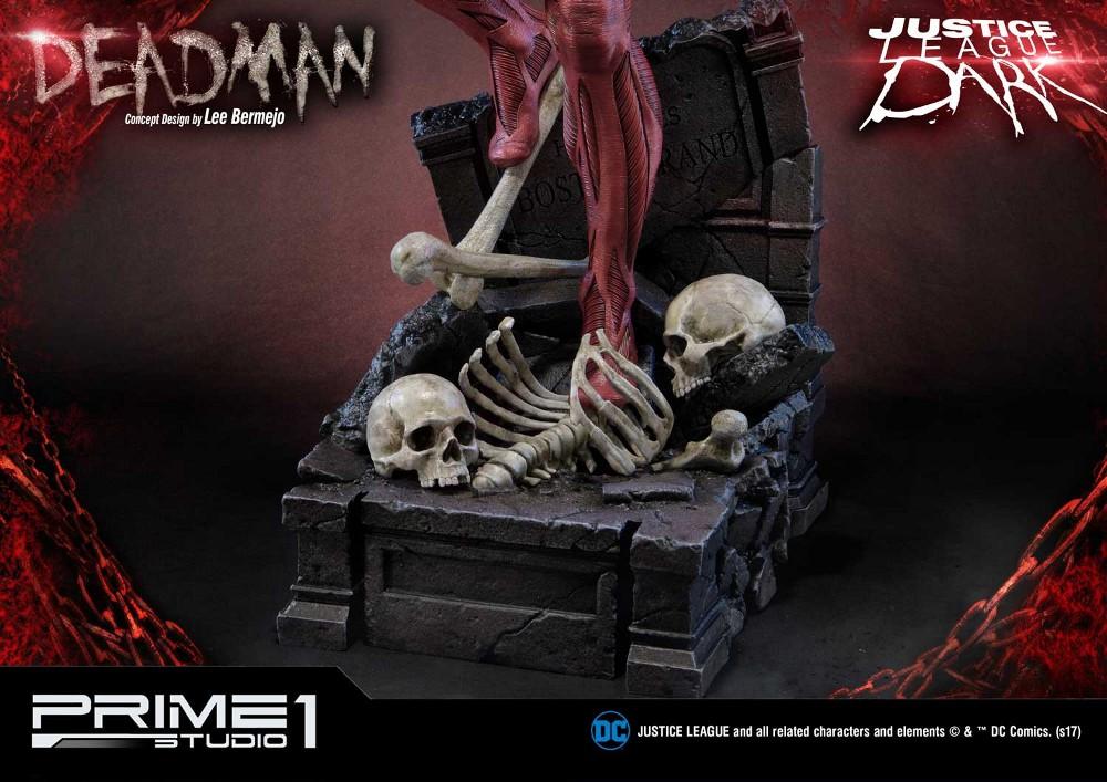 DC Comics : Justice League Dark - Deadman (Concept Design by Lee Bermejo) Deadman-statue-PrimeOne-8