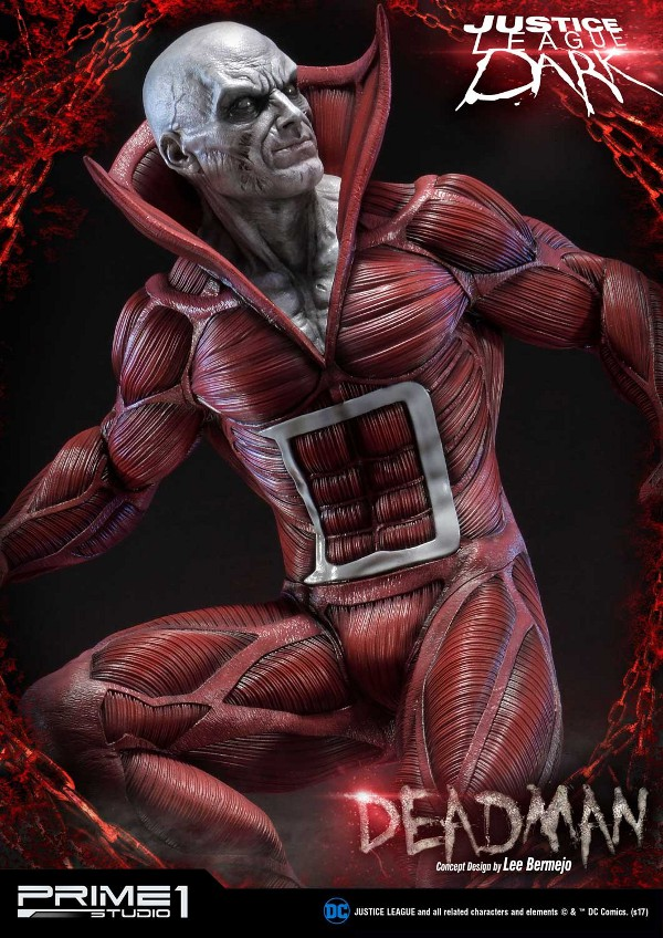 DC Comics : Justice League Dark - Deadman (Concept Design by Lee Bermejo) Deadman-statue-PrimeOne-9