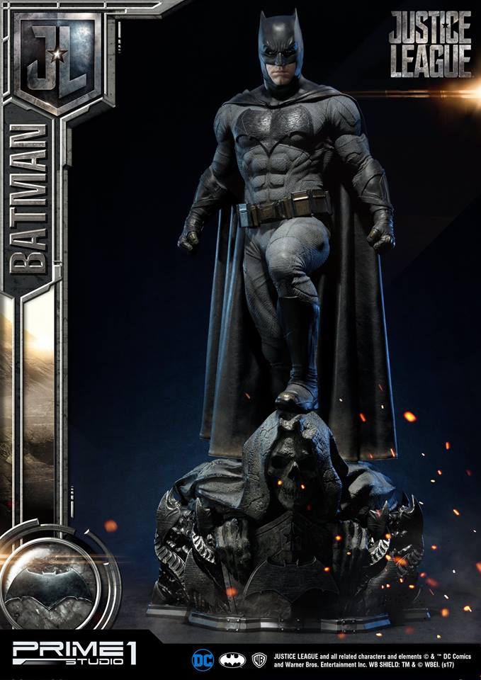 DC Comics - Justice League Movie - Batman 1/3 statue JLABatman03