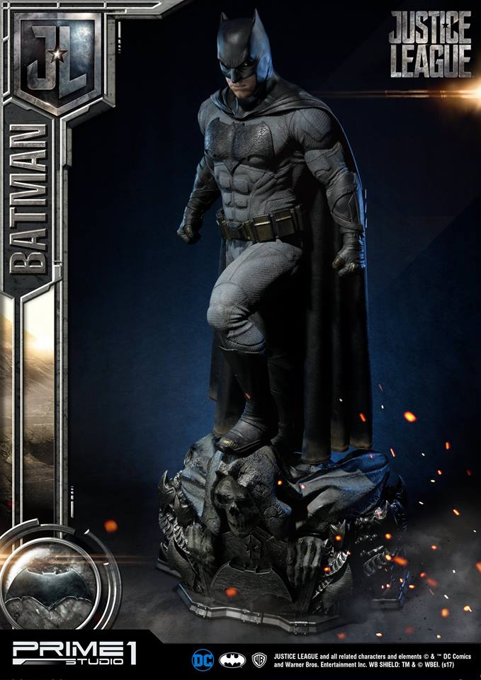 DC Comics - Justice League Movie - Batman 1/3 statue JLABatman10