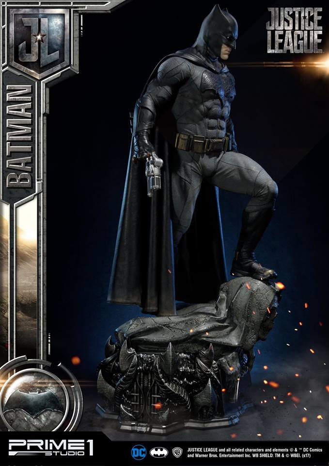 DC Comics - Justice League Movie - Batman 1/3 statue JLABatman18