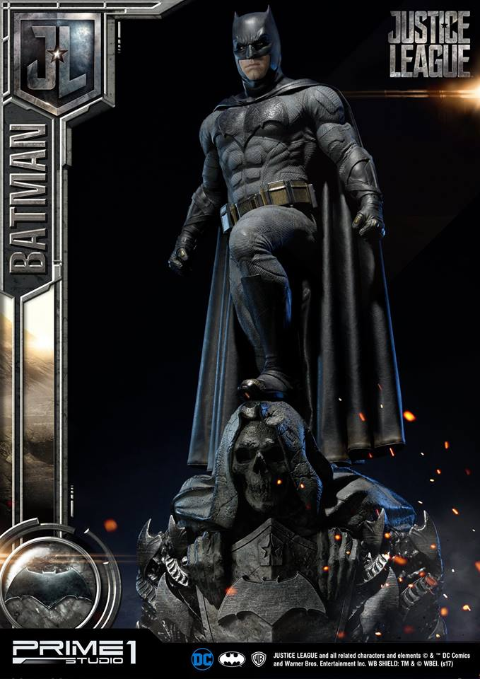 DC Comics - Justice League Movie - Batman 1/3 statue JLABatman22