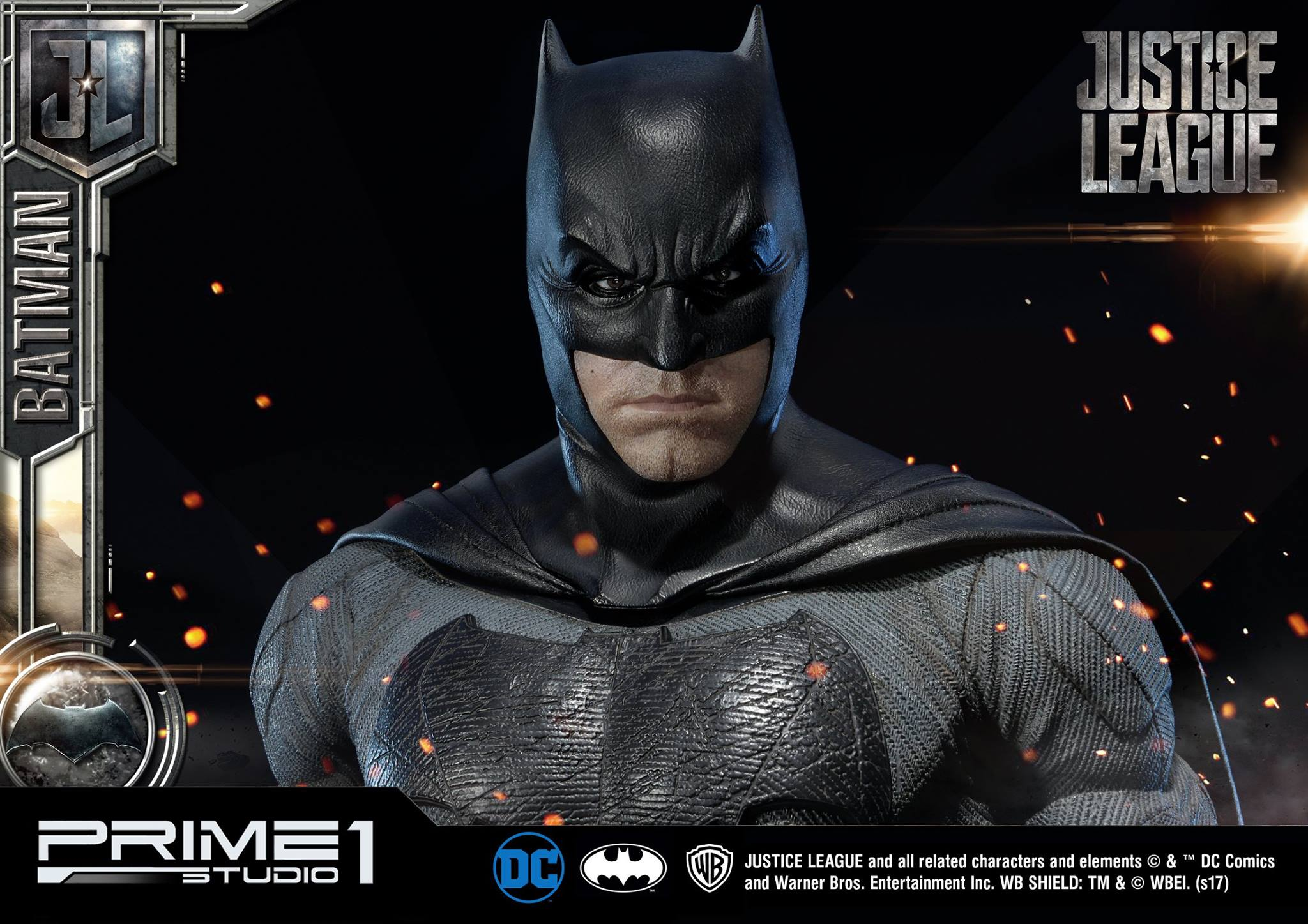 DC Comics - Justice League Movie - Batman 1/3 statue JLABatman24
