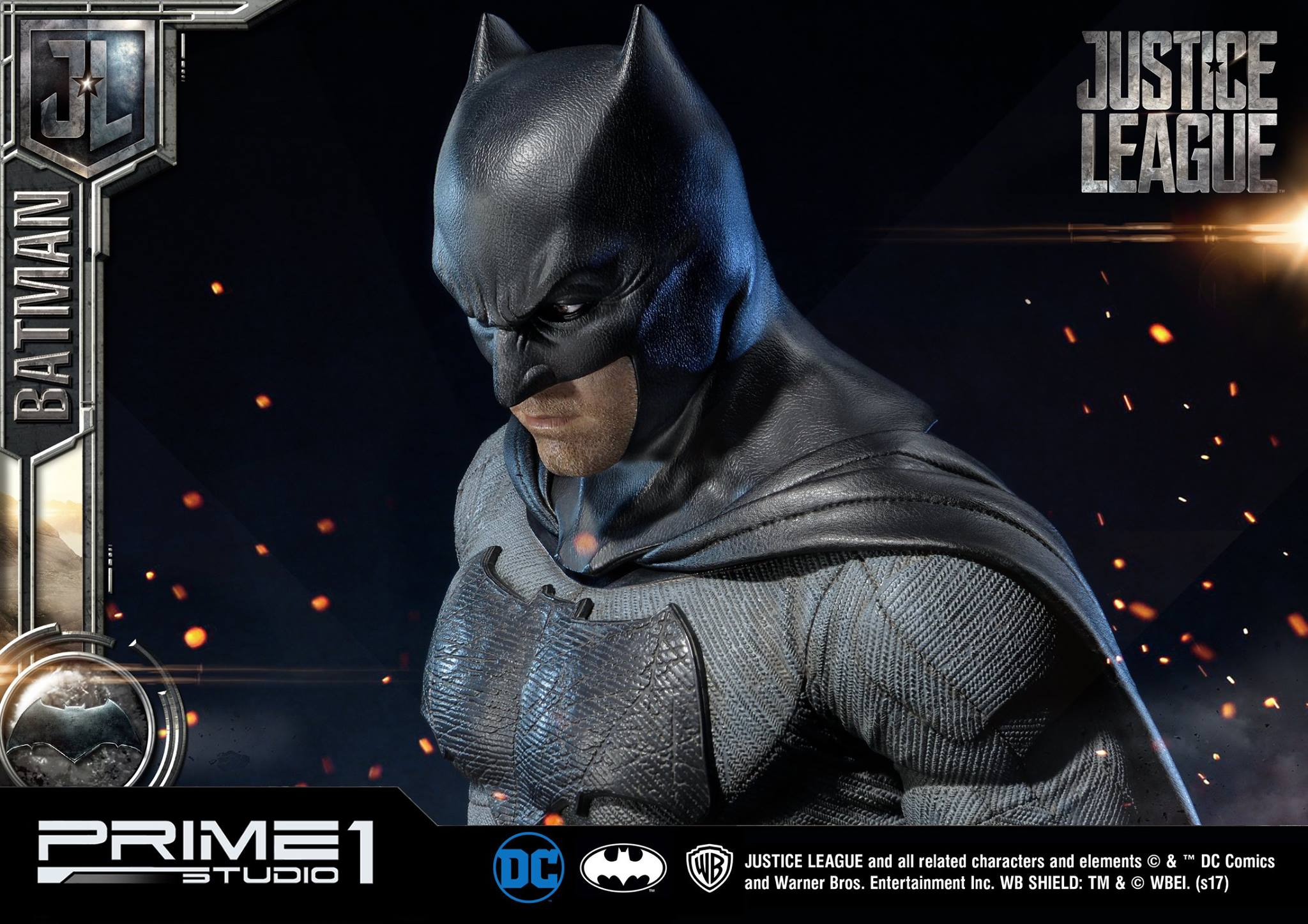 DC Comics - Justice League Movie - Batman 1/3 statue JLABatman25