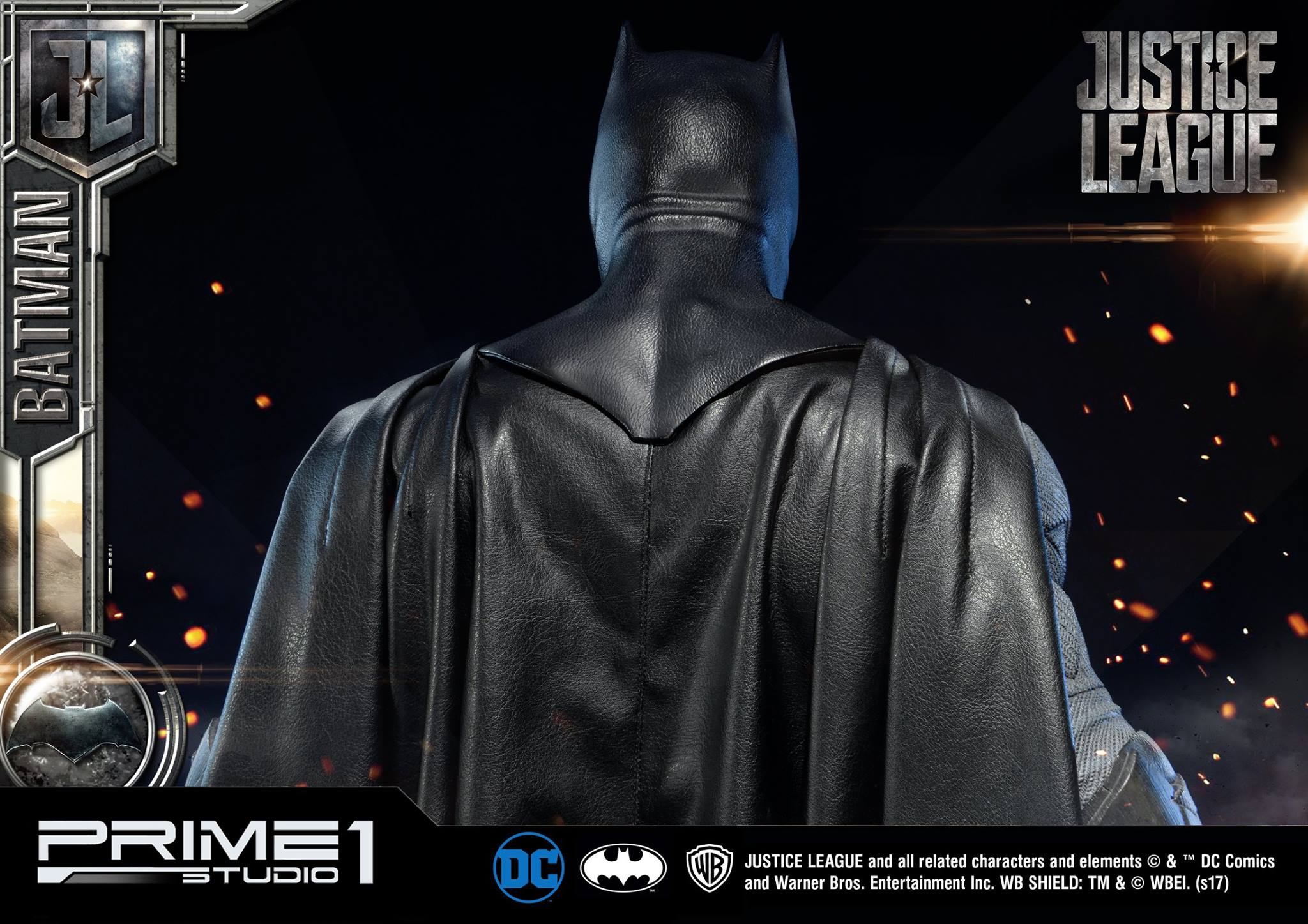 DC Comics - Justice League Movie - Batman 1/3 statue JLABatman27