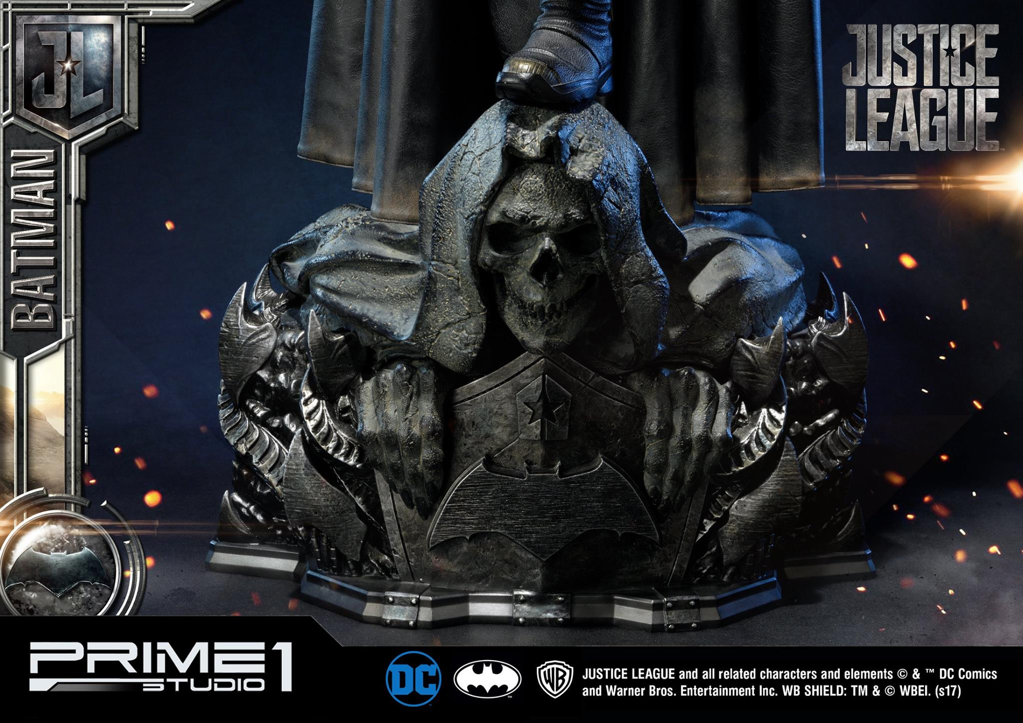 DC Comics - Justice League Movie - Batman 1/3 statue JLABatman28
