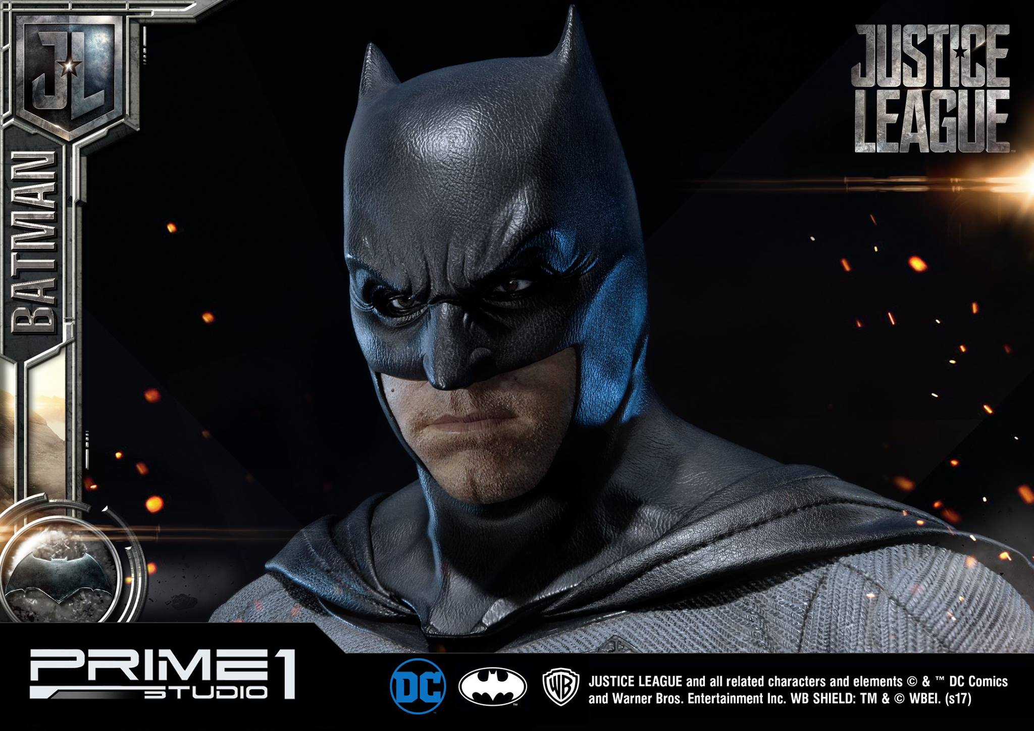 DC Comics - Justice League Movie - Batman 1/3 statue JLABatman30