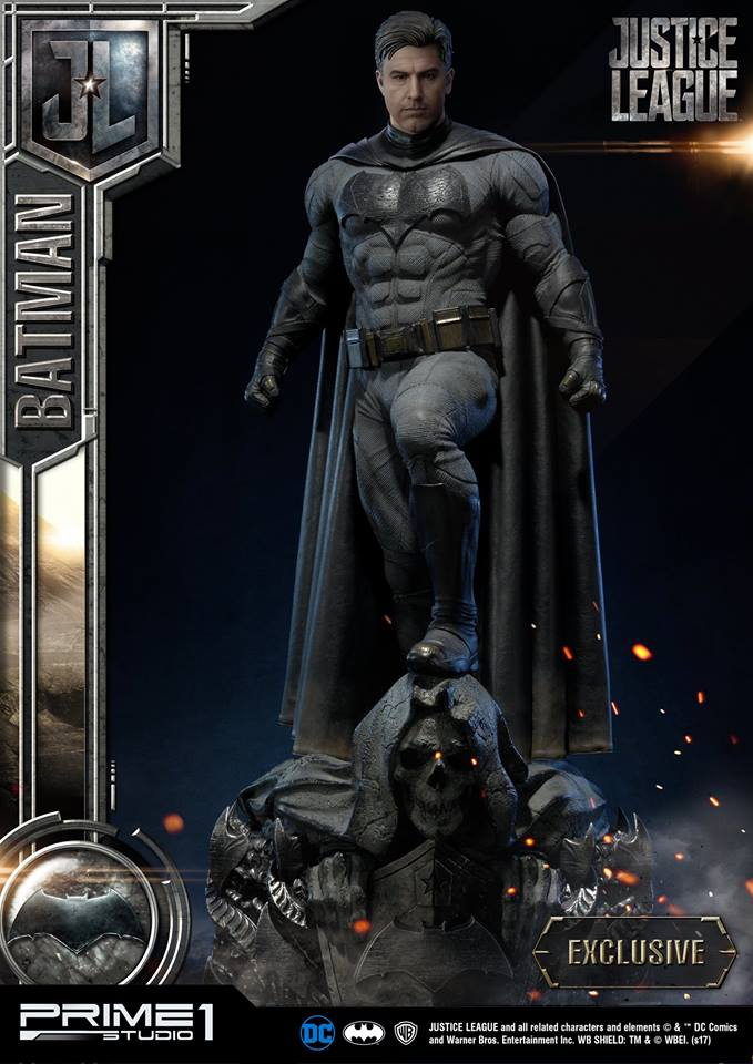 DC Comics - Justice League Movie - Batman 1/3 statue JLABatman32