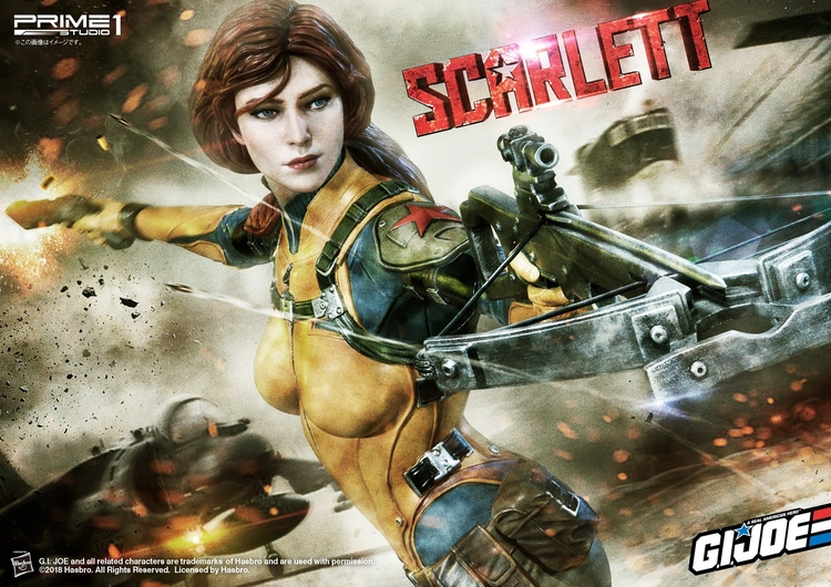 SCARLETT (G.I Joe) Premium masterline Scarlett-Premium-master-line-prime-one-09